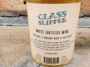 Arthur Wines Glass Slipper